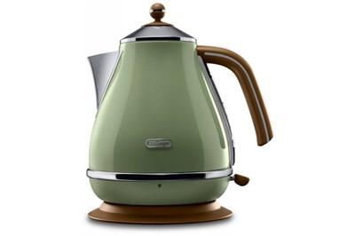 Чайник DeLonghi KBOV 2001 GR зеленый - фото 16962