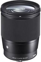 Объектив Sigma 16 mm F1.4 DC DN Contemporary, Sony E