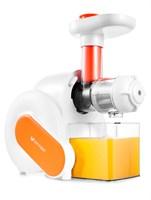 Соковыжималка Kitfort KT-1110-2 оранжевый