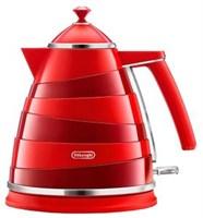 Чайник Delonghi KBA 2001 Avvolta красный