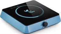 Электрическая плита Kitfort KT-113-1 голубая