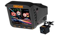 Видеорегистратор с радар-детектором 5 в 1 КАРКАМ КОМБО 5S