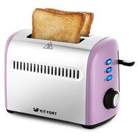 Тостер Kitfort KT-2026-4, фиолетовый