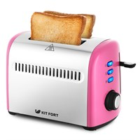 Тостер Kitfort KT-2026-6, розовый